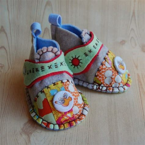 Handmade Sewing Ideas - modcloth handmade contest felt baby shoes sewing