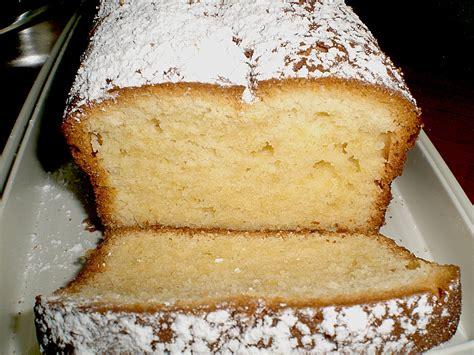 kasten kuchen zitronen kastenkuchen mit frischk 228 se rezept mit bild