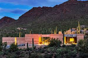 Create My Own Floor Plan rammed earth tucson mountain retreat is intimately