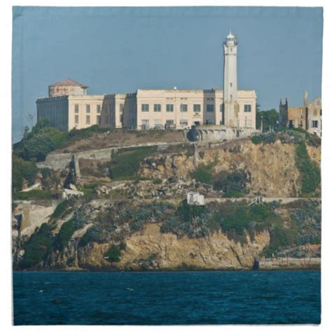 alcatraz island prison san francisco bay cloth napkin zazzle