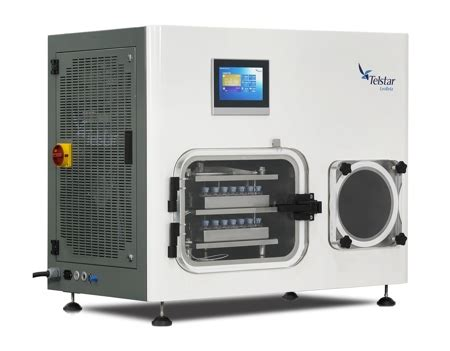 bench top freeze dryer telstar offers new compact benchtop lab scale freeze dryer