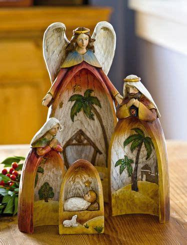 nested nativity buy from gardener s supply