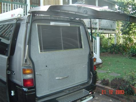 Awnings For Homes Mitsubishi Delica L300 Campervan 3 Xcentrix
