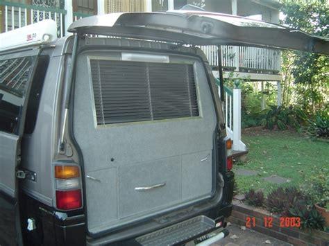 Interior Of Homes Mitsubishi Delica L300 Campervan Xcentrix