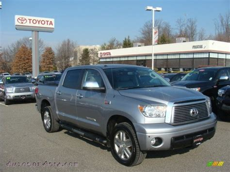 Toyota Tundra Crewmax Limited 4x4 For Sale 2010 Toyota Tundra Limited Crewmax 4x4 In Silver Sky