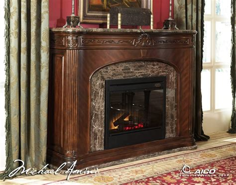 Marble Top Electric Fireplace by Villagio Marble Top Fireplace With Electric Fireplace