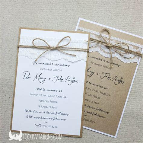 Hochzeitseinladung Rustikal by Einladung Hochzeit Rustikal Cloudhash Info