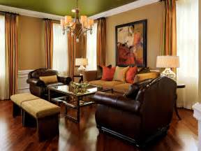 brown livingroom outdated home brought back to paula grace halewski