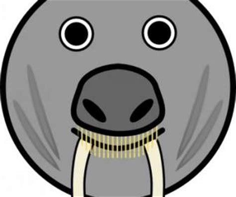 Clip Bulat hewan bulat wajah clip vektor clip vektor gratis gratis