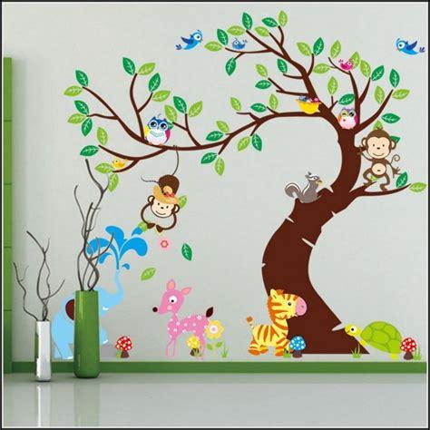 wandtattoo kinderzimmer design wandtattoo tiere kinderzimmer kinderzimme house und