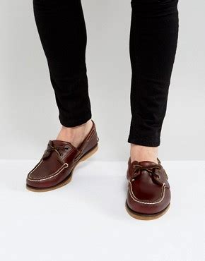 timberland boat shoes red sole men s shoes footwear for men asos