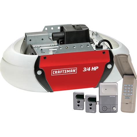 1 2 Vs 3 4 Hp Garage Door Opener Craftsman 53925 3 4 Hp Garage Door Opener Drive Sears Outlet