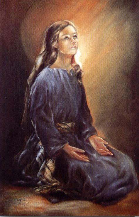 imagenes de la virgen maria orando 12 orantes b 237 blicos la oraci 243 n de la virgen mar 237 a fiat y
