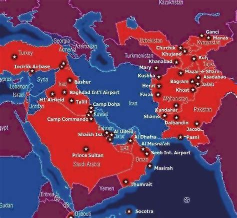 Air Force One Installation by U S Military Bases In The Middle East Antiwar Com Blog