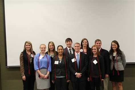 Mba School Cords by Ung Beta Alpha Psi Inducts New Members