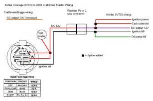 kohler sv730 25 hp engine into older b amp s craftsman