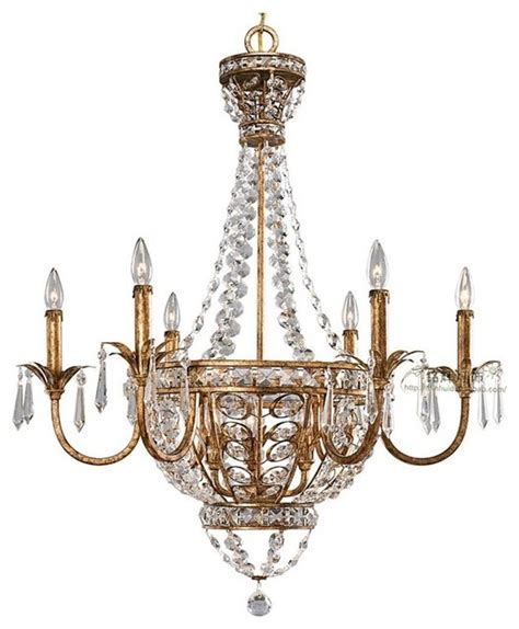 Antique Copper Crystal Chandelier Contemporary Antique Copper Chandelier