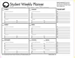 Student Daily Planner Template by Daily Planner Template For Students Driverlayer Search