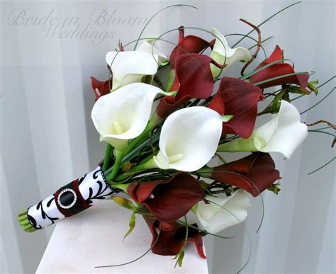 Wedding Bouquet Calla Lilies by White Calla Wedding Bouquet In Bloom