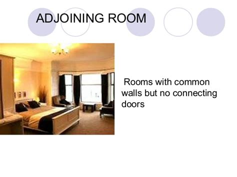 connecting room definition types of rooms