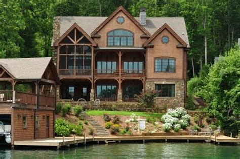 Luxury Homes Brton Fee Simple Luxury Lake Burton Home House Fee Simple Boathouse And Lakes