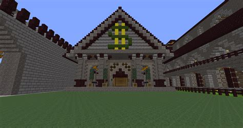house ideas minecraft minecraft building ideas server bank