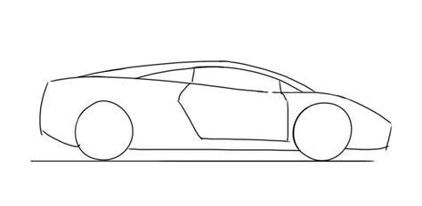 How to draw a Lamborghini Gallardo   Junior Car Designer