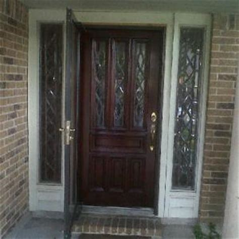Front Door Refinishing Houston Houston Front Door Refinishing Before After Photos