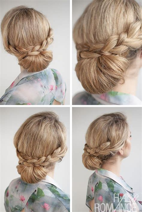 romantic hairstyles for long hair with french braids 61 best images about 30 buns in 30 days on pinterest