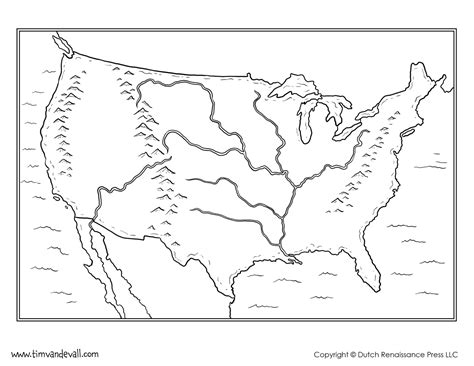 blank us map to color printable blank united states map us states blank map 48