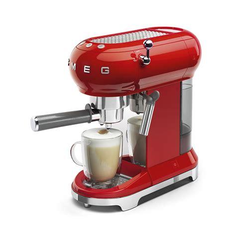 Espresso Coffee Machine   ECF01RDEU   Smeg COM