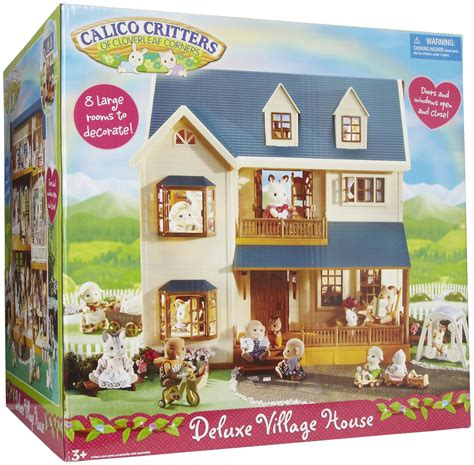 calico critters house calico critters deluxe village house toy safari