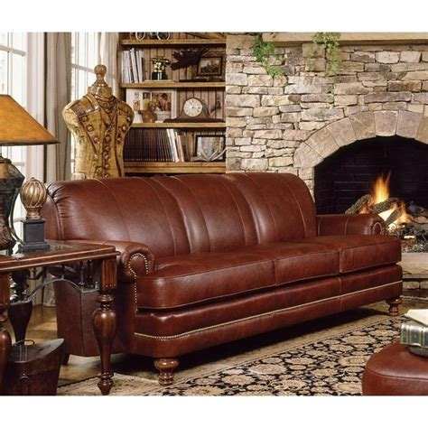 smith brothers leather sofa nebraska furniture mart smith brothers traditional brown