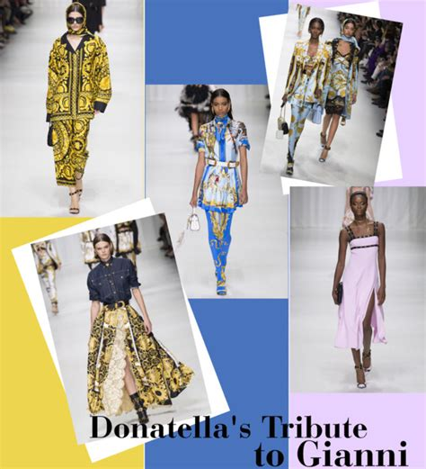 Ten Years On Pay Tribute To Gianni Versace by Donatella S Tribute To Gianni S Closet