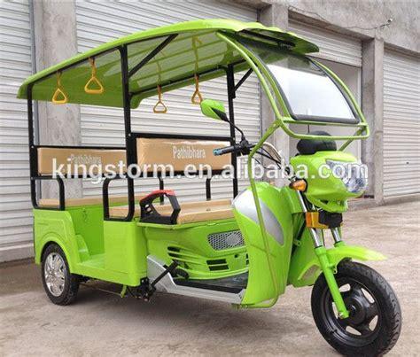 yeni elektrikli yolcu uec tekerlekli nepal pazari icin
