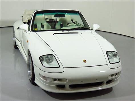 porsche gemballa 80s tuner tuesday 1995 porsche 911 turbo cabriolet gemballa