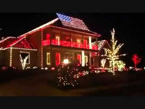 an american christmas light show in tallahassee fl youtube