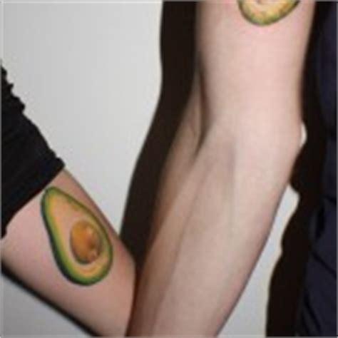 avocado tattoo couple beard couple tattoo best tattoo ideas gallery