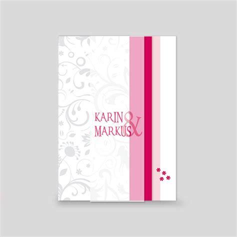 Hochzeitseinladungen Pink by Leporello Foto Hochzeitseinladung Pink