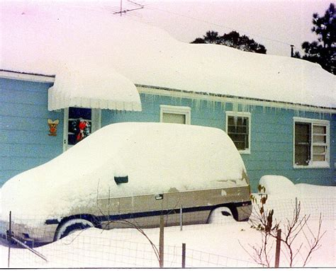 nc history of snowy christmas coastal snowstorm december 22 24 1989