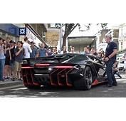 Lamborghini Centenario Arrives And Revs In London Causes