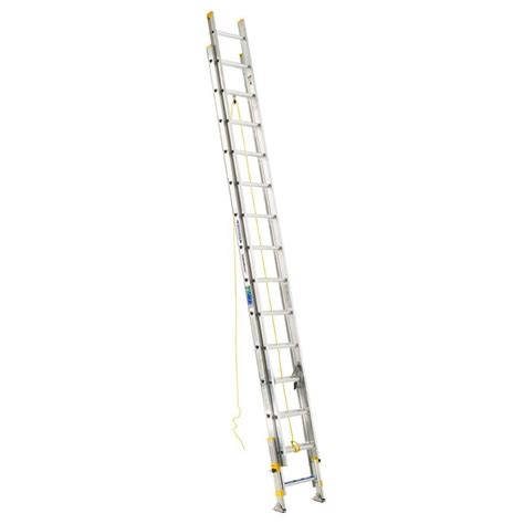 werner 32 ft aluminum extension ladder with 250 lb load