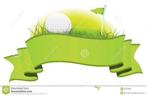 golf clip free golf banner clipart