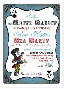 mad hatter invitation sassaby mad hatters tea