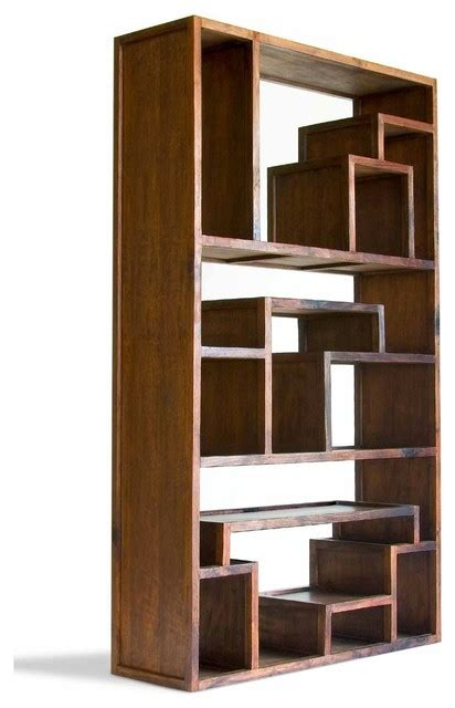 Great Wall Mahogany Bookcase   Asian   Bookcases   by