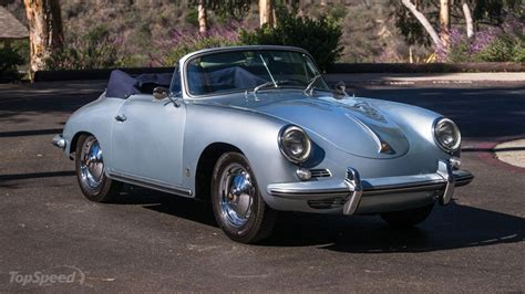 porsche 356 cabriolet 1960 porsche 356 b 1600 cabriolet review top speed