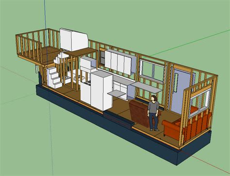 Tiny House 500 Sq Ft by Tiny House On Wheels Floor Plans Trailer Effective And