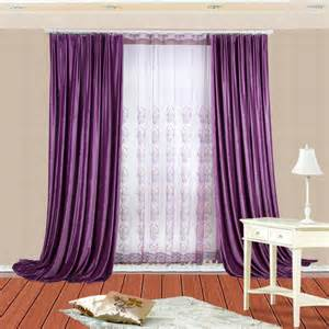 Elegant Sheer Curtains Thermal Velvet Simple Window Curtains With Corresponding