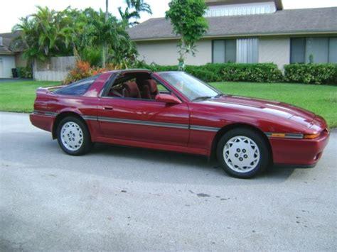 Supra 100 Original 4 1989 toyota supra turbo targa 5 speed 65000 mi 100