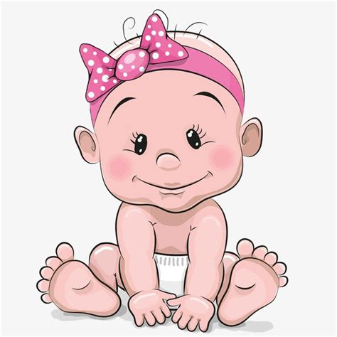 cartoon film for baby cute baby girl hand painted cartoon lovely png image